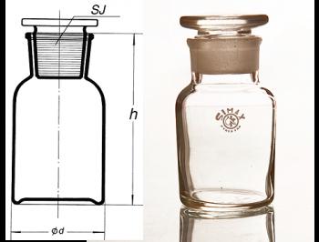 شیشه پودری سفید